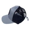 Black mesh on back of hat
